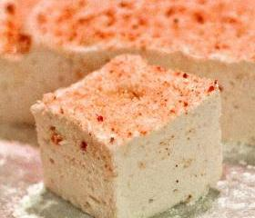 24 Organic Freckled Strawberry Marshmallows Two Dozen Gluten Free Egg Free Gourmet Kosher