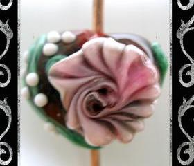 Heart and Soul 2 Lampwork Focal- SRA