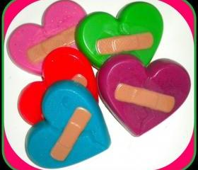 Soap - Valentine's Day - Broken Heart - Made With Goat Milk