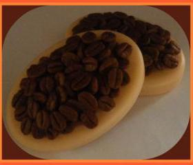 Soap - Massage Bar - French Vanilla Coffee Bean - made with goat milk