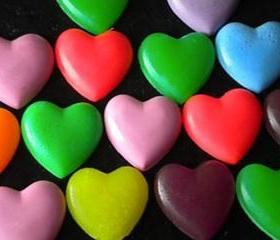 50 Heart Soaps Large Quantity Discount...Weddings, Party Favors, Bridal Showers