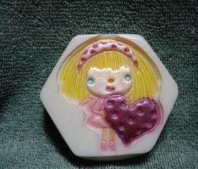 Valentine Soap - I Have a Heart Soap - Romantic Wishes Scent