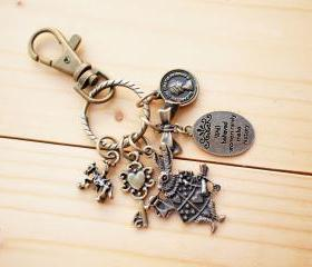 Charm Keychain, Rabbit in love