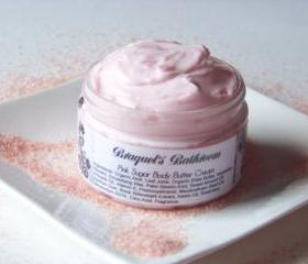 Pink Sugar Body Butter Cream (Vegan)