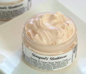 Peaches & Cream Body Butter Cream (Vegan)