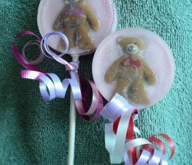 Teddy Bear Soap Taffy's - Jolly Rancher Scent