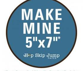Make Mine 5x7 - Love You More Than
