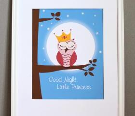 Good Night Little Princess, 8x10