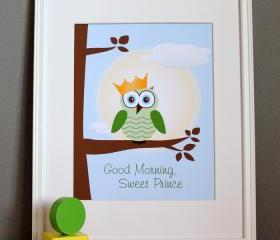 Good Morning Sweet Prince art print, 8x10