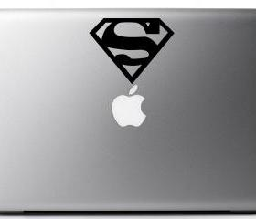 Superman Vinyl Decal - Laptop, iphone, macbook