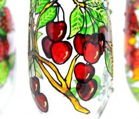 Hand Painted Glass, Spring, Seasonal Collection