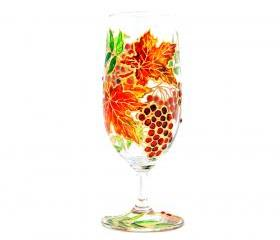 Hand Painted Glass, Autumn, Seasonal Collection 