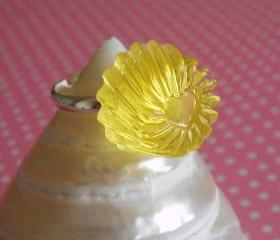 Lemon Jelly Drop Ring