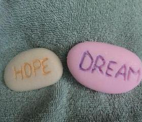 Inspirational Stones Soap Set