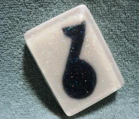 Music Note Soap - Vanilla Scented