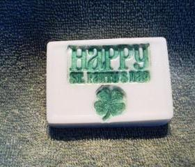 St. Patrick's Day Soap - Cucumber Melon Scent