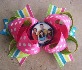 Fresh Beat Band Inspired Hair Bow