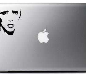 lady Gaga Decal - Laptop or Wall