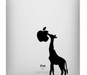 Ipad decal - Giraffe - UK Seller