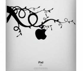 Ipad decal - Apple tree - UK WAB Team