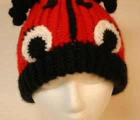 Adult size Whimsical Ladybug Hat