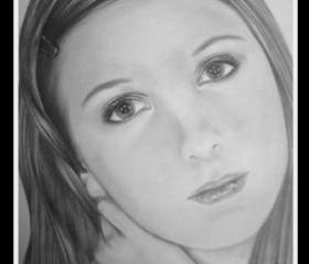 Photorealistic Pencil Portrait, 11 X 14, payment plans available