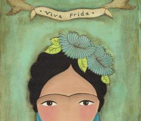 Viva Frida... Fine Art Print