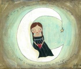 Moon Dreamer... Fine Art Print