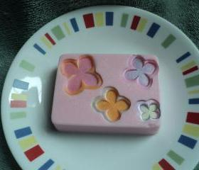 Sweet Pea Flower Soap