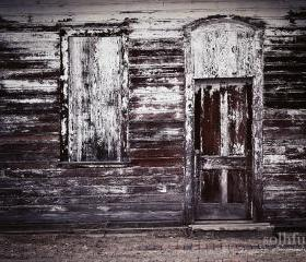 Rustic Abandoned Train Depot Fine Art Photography 11x14