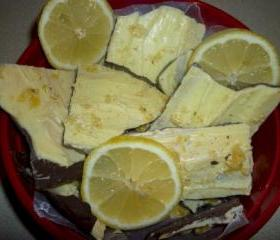 Luscious Lemon Chocolate Bark 1 lb. package