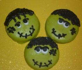 Chocolate Covered Oreos Frankenstein Halloween Design Party Favors 12