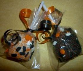 Chocolate Covered Halloween Marshmallow Party Treats Order of 1 Dozen