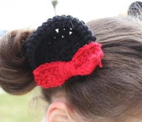 Minnie Mouse inspired 'ears' on clips