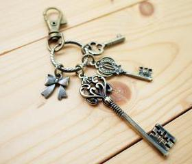 Charm Keychain, Romantic Keys