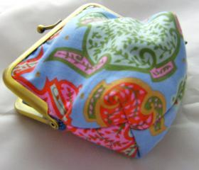 4' Silly Coin Purse - Tea Pots