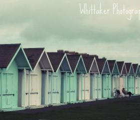 Beach Huts - 8x10 fine art photograph