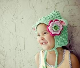 Little Lamb (Organic Cotton in Mint Tone)
