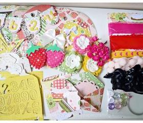 Happy Birthday Cupcake Album Kit #2