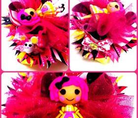 Crumbs Sugar Cookie Lalaloopsy Over the Top Boutique Hairbow