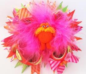 Dr Seuss 'The Lorax' Over the Top Boutique Hairbow