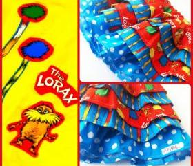 Dr Seuss 'The Lorax' Ruffle Skirt Outfit