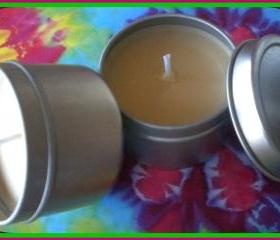 Soy Candle - Oatmeal, Milk and Honey scented - 2 oz