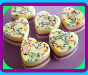 Soap - Cake Batter - Goat Milk Soap - Birthday, Party Favor