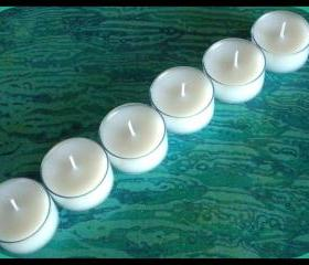 Tealight Candles - Set of 25 - Unscented