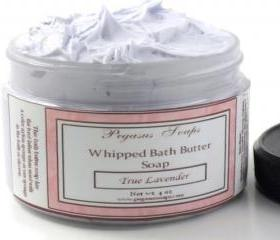 Whipped Bath Butter Soap 4 oz True Lavender