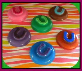 Soap - Horseshoe Goat Milk Soap - Party Favors - Choose Scent and Colors
