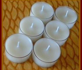 Tealight Candles - Set of 6 - Sugar Cookie Scented