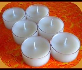 Tealight Candles - Set of 6 - French Vanilla