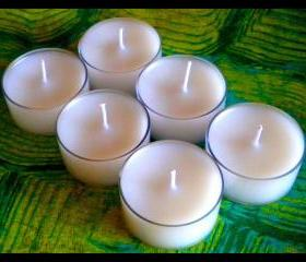 Tealight Candles - Set of 6 - Unscented